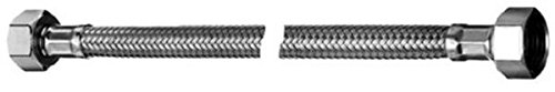 102240699 Flexibler Schlauch Clean-Fix S mit 2 Überwurfmuttern 1/2 Zoll, 500 mm, chrom