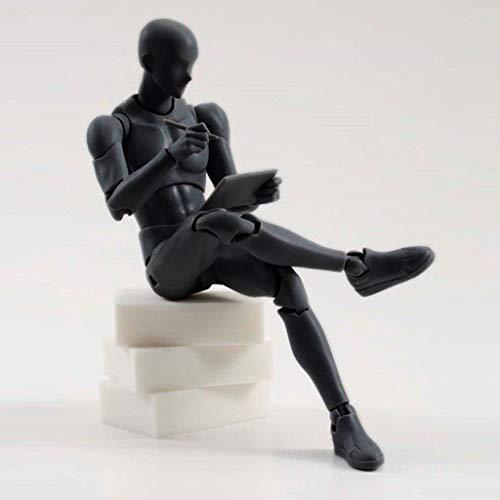Mitlfuny-> Haus & Garten -> Wohnkultur,Zeichnungsfiguren für Künstler Action Figure Model Human Mannequin Man Woman ()