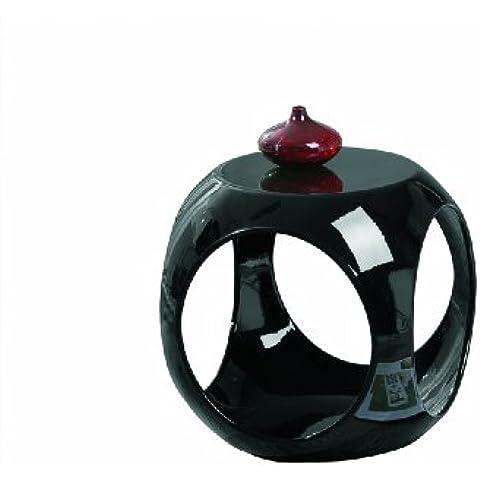 Links Nono - Mesa Auxiliar Redonda, color negro