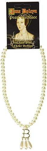 "Anne Boleyn (Ugly Betty) 16\"" Pearl Choker Necklace - Authentic Replica"