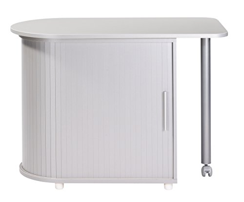 Simmob COOL100AL Meuble de Cuisine Bois Aluminium 55 x 105 x 74,7 cm