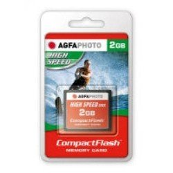 AgfaPhoto CompactFlash (CF) High Speed 2GB Speicherkarte (Gig 2 Compact-flash-karte)