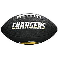 Wilson Los Angeles Chargers NFL - Balón de fútbol, Color Negro