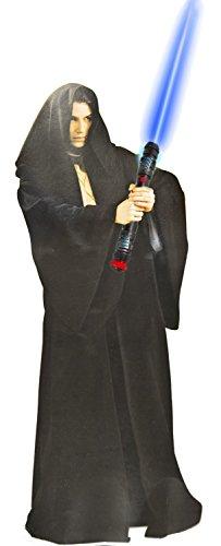 Nick and Ben Jedi Krieger Kostüm Umhang Robe Kutte Verkleidung braun Mantel Cape Mönch Jacke