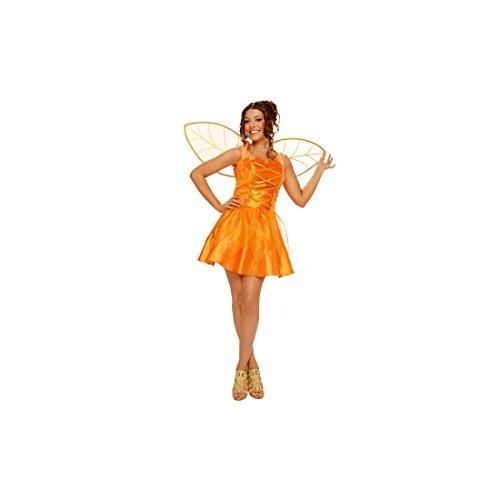 Imagen de disfraz de hada del bosque para mujer talla standar m l = 38 42