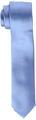 Calvin Klein Herren Slim 6.4 Cm Krawatte, Blau (Sky Blue 454), One size