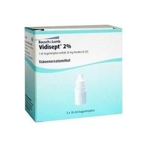 Vidisept 2% Augentropfen 3X10 ml