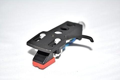 Noir Coquille Platine Support avec cartouche pour Technics SL1200, SL1200 Mk2, SL1210, SL1210 Mk2, SL1200 Mk5, SL1210 Mk5,SL1600 Mk2, SL1610 Mk2, SL1700 Mk2, SL1710 Mk2, SL1800 Mk2, SL1810 Mk2 Platines
