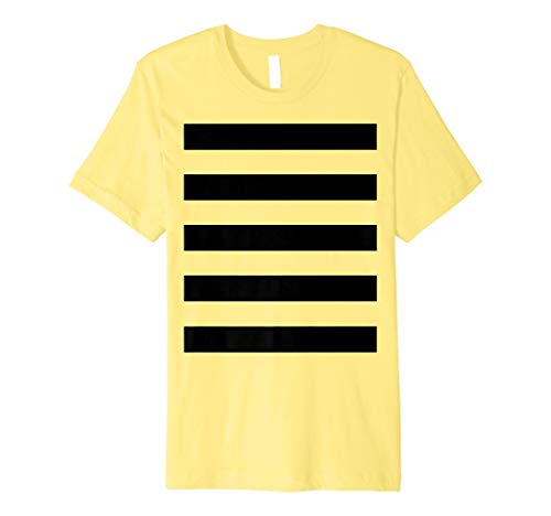 Bee Kostüm Shirt–Halloween-Kostüm Honeybee Honig