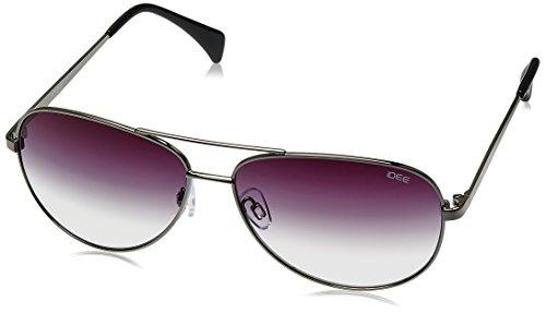 IDEE Aviator Sunglasses (IDS2003C4SG|60|Gun Metal ) image