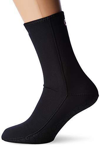 Cressi Metallite Boots Escarpines de Neopreno, Unisex, Negro, L