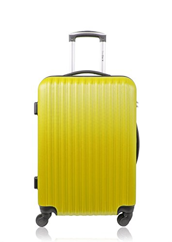 Blue Star Florence Valise Weekend, 60 L, Jaune