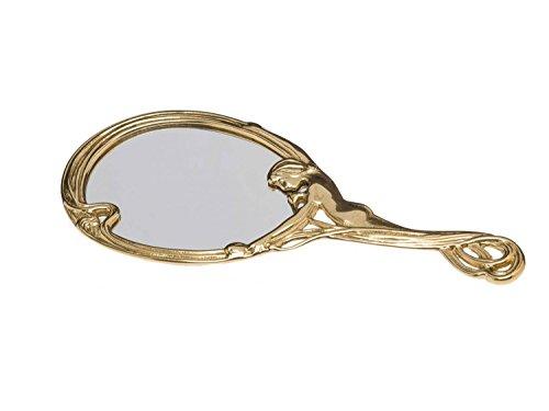 aubaho Handspiegel Dame Spiegel Kosmetikspiegel Frisierspiegel antik Stil Hand Mirror