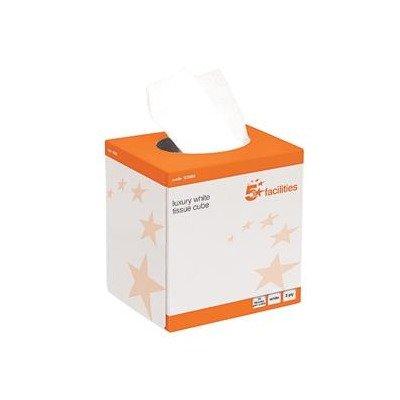 ESP LTD ftw070Facial Tissue Cube Creme, Box, kmax10010(24Stück) (Esp Boxen)