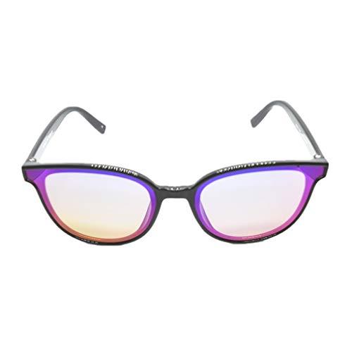 Otfi ZRSHA Sonnenbrillen Brille Extra Schmaler Rahmen! Slim Rechteck Nerd Clear Brille!Negatives Ion !schütze die Augen ! Müdigkeit lindern ! High-Tech-Brille sonnenbrille!