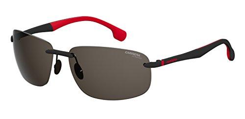 Carrera Gradient Rectangular Men's Sunglasses - (CARRERA 4010/S BLX 62IR|62|Grey Color)
