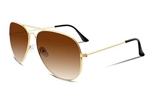 FEISEDY Retro Fashion Sonnenbrille Gradient Lens Männer Frauen Marke Sonnenbrille B1100