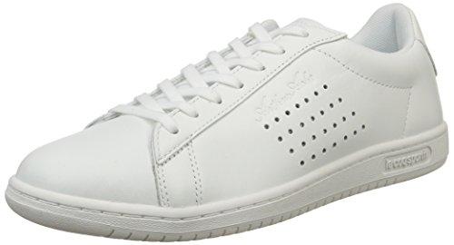 Le Coq Sportif Arthur Ashe Luxe, Baskets Basses Homme Blanc(Optical White)