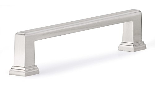 Richelieu Hardware BP795160195 Transitional Metal Handle Pull ,6 2/7, Brushed Nickel by Richelieu