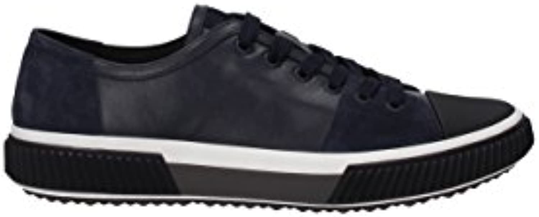 Prada Sneakers Herren   Leder (4E3058PLUMESCAMOSCI) EU