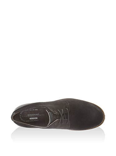 Rockport Ledge Hill Too Plain Toe Blucher, Derby homme Chocolat
