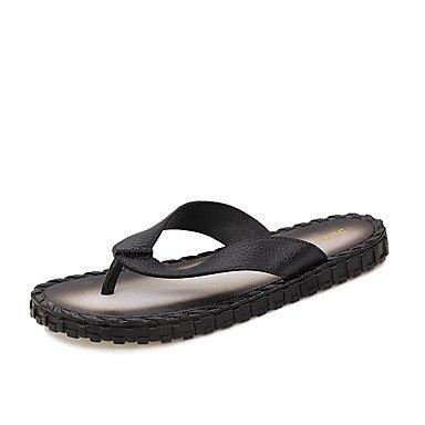 Slippers & amp da uomo;Primavera Estate Autunno Comfort microfibra esterna casuale cucitura Tacco sandali US10.5 / EU43 / UK9.5 / CN45