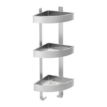ikea grundtal wandeckregal aus edelstahl; (26x58cm): amazon.de ... - Ikea Küche Edelstahl