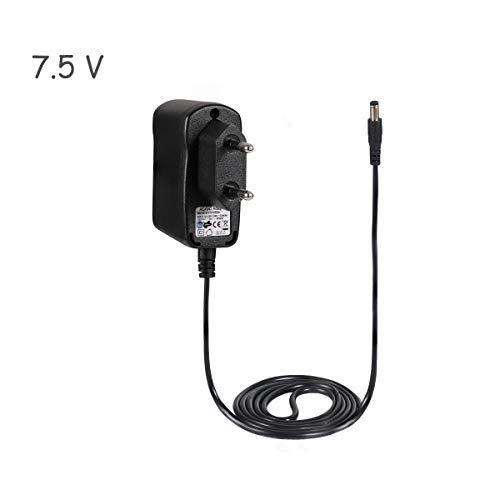 kacai Netzteil AC Adapter 7.5V 500mA Ladegerät für VTech Produkte Ladekabel Netzadapter mit Netzanschluss