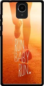 MOBILINNOV Archos Core 50 Run Baby Run Silikon Hülle Handyhülle Schutzhülle - Zubehor Etui Smartphone Archos Core 50 Accessoires
