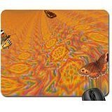 Amber Wave (Starry Waves of Amber Mouse Pad, Mousepad (Butterflies Mouse Pad))