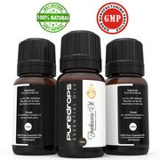 Pure Drops Frankincense Essential Oil (10ml)- 100% High- Quality -