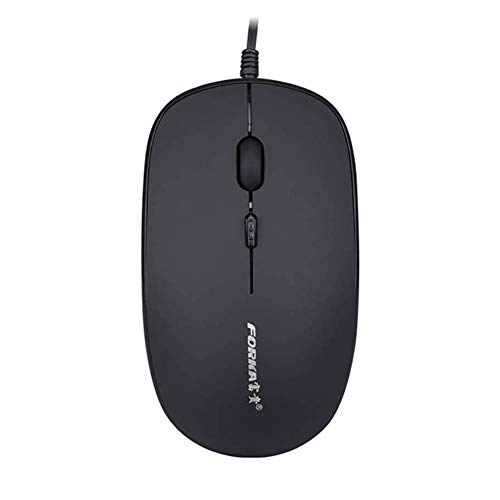 ZqiroLt K9, Universal, 600/1000 / 1600DPI, USB-Stummschalttaste, PC-Laptop-Maus für Office Home Black - K9 Flash-speicher