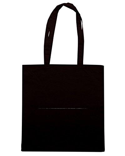 T-Shirtshock - Borsa Shopping TM0696 dont hope change Nero