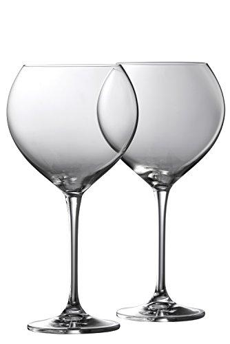 Galway Crystal Klarheit Goblet (Set von 2), Transparent, Set von 2 Galway Crystal Set
