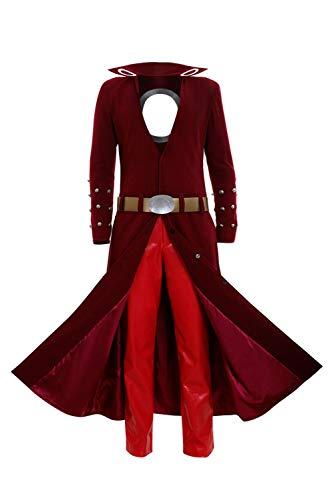 RedJade The Seven Deadly Sins Ban Outfit Cosplay Kostüm Herren L