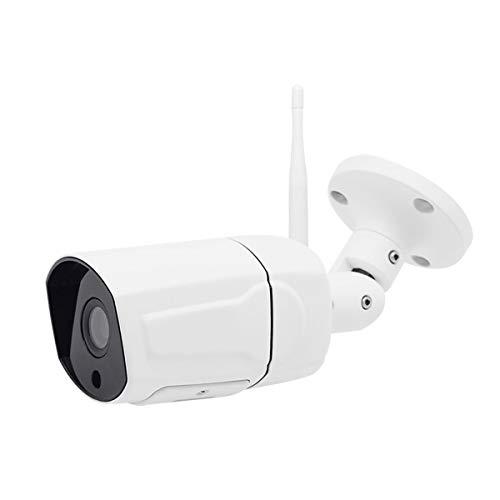 WLAN IP Kamera 1080P HD Überwachungskamera IP66 Wasserdichte für den Außenbereich Eingebauter SD Kartensteckplatz bis zu 20 m IR-Nachtsicht mit Bewegungserkennung Fernbeobachtung Senden von Warnungen