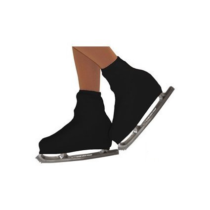 STD SKATES Par de Fundas cubre botas para patines de patinaje artístico en micro fibra muy resistente (negro)