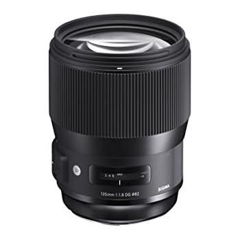 Sigma 135mm F1,8 DG HSM Art Objektiv (82 mm Filtergewinde) für Canon Objektivbajonett