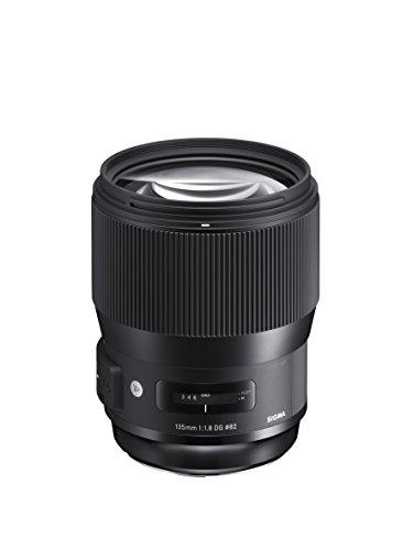 Sigma 240954 Obiettivo 135mm-F/1.8-AF (A) DG HSM, Attacco Canon, Nero