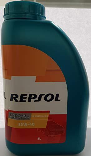 Respol SA Repsol PERFORMANCE 15W-40 olio motore multigrado per motori leggeri a benz