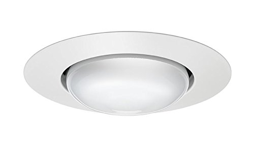 Wh Open-trim (Juno Lighting Group 201N-WH Open Frame Recessed White Trim, 5-Inch, White Finish by Juno Lighting Group)