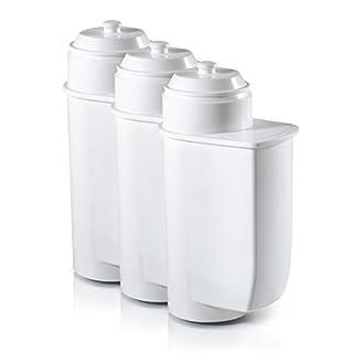 Siemens TZ70033 Brita Intenza Wasserfilter (3er Pack, Entkalkung, reduziert geruchs- und geschmacksstörende Stoffe, für EQ.Serie, supresso Reihe und Einbauvollautomaten)