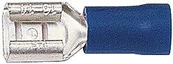 Flachsteckhülsen für Flachstecker . HELLA. 1,5-2,5 mm², 6,3x0,8 mm, blau