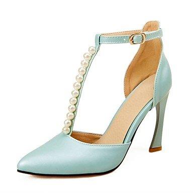 Zormey Women'S Shoes Stiletto Heel/D'Orsay Zweiteilige/Schuhe Heels Imitation Pearl Hochzeit Schuhe/Partei/Kleid Blau/Rosa US8.5 / EU39 / UK6.5 / CN40