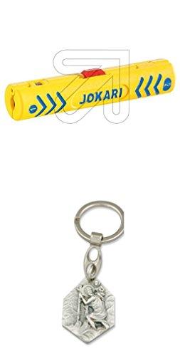 Jokari Koax-Entmantler Secura Coaxi Nr.1 mit Anhänger Hlg. Christophorus