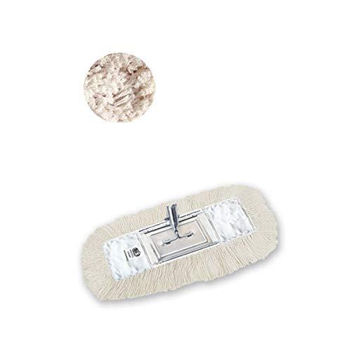 Hilados Mopp Poliermop mit Bändern, Weiß, Einheitsgröße