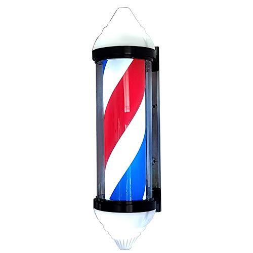Rétro LED Barber Shop Signe De Salon Pole Light Lumineux Étanche Rotatif BSP-707 80Cm