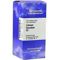 BIOCHEMIE 1 Calcium fluoratum D 3 Tabletten 200 Stück preisvergleich bei billige-tabletten.eu