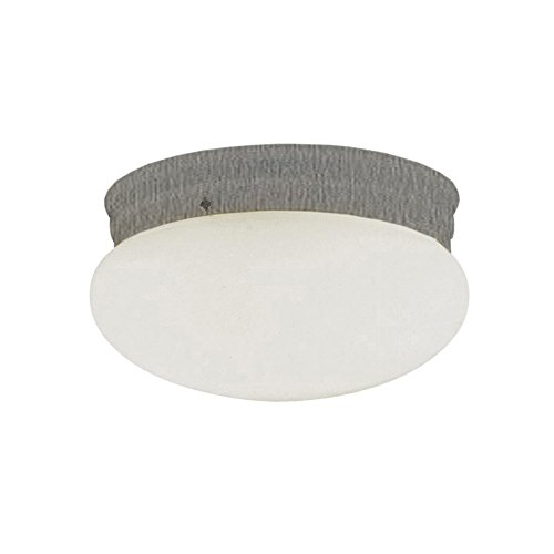 Transglobe Lighting PL-3620-1 BN Flush Mount with Opal Glass Shade, Brushed Nickel Finished by Trans Globe Lighting - 1 Trans Globe Flush Mount