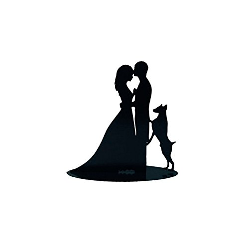 WeddingsOutlet Figure Cake Boyfriends with Dog